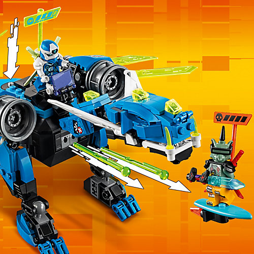 Конструктор LEGO Ninjago 71711: Кибердракон Джея от LEGO