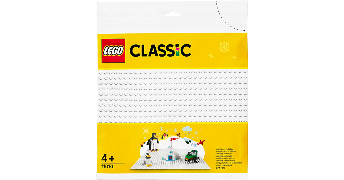 LEGO® Classic 11010 Weiße Bauplatte