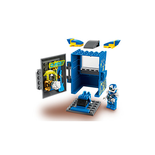 Конструктор LEGO Ninjago 71715: Игровая капсула для аватара Джея от LEGO