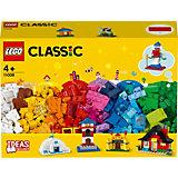 Конструктор LEGO Classic 11008: Кубики и домики