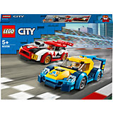 Конструктор LEGO City Turbo Wheels 60256: Гоночные автомобили