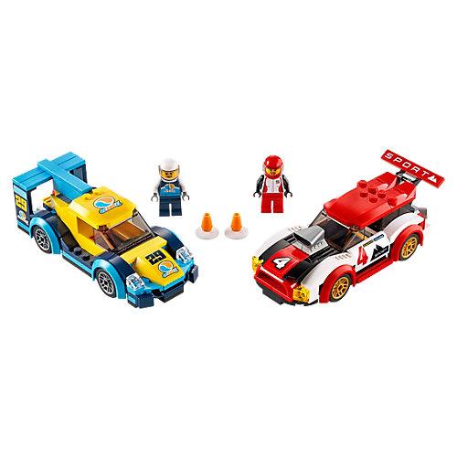 Конструктор LEGO City Turbo Wheels 60256: Гоночные автомобили от LEGO