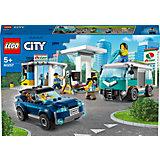 Конструктор LEGO City Turbo Wheels 60257: Станция технического обслуживания