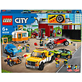 Конструктор LEGO City Turbo Wheels 60258: Тюнинг-мастерская