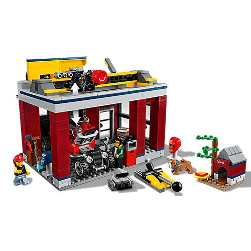 Конструктор LEGO City Turbo Wheels 60258: Тюнинг-мастерская от LEGO