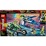 Конструктор LEGO Ninjago 71709: Скоростные машины Джея и Ллойда