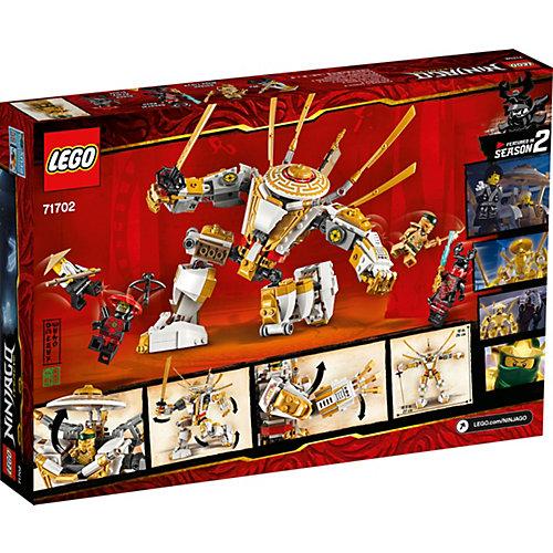 Конструктор LEGO Ninjago 71702: Золотой робот от LEGO