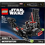Конструктор LEGO Star Wars 75264: Микрофайтеры: шаттл Кайло Рена
