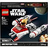 Конструктор LEGO Star Wars 75263: Микрофайтеры: Истребитель Сопротивления типа Y