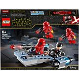 Конструктор LEGO Star Wars 75266: Боевой набор: штурмовики ситхов