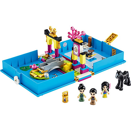 Конструктор LEGO Disney Princess 43174: Книга сказочных приключений Мулан от LEGO