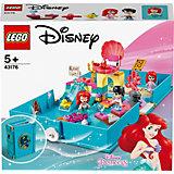 Конструктор LEGO Disney Princess 43176: Книга сказочных приключений Ариэль