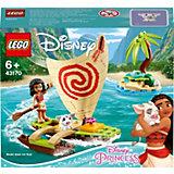 Конструктор LEGO Disney Princess 43170: Морские приключения Моаны
