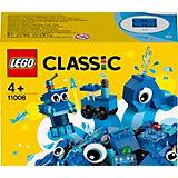 Конструктор LEGO Classic 11006: Синий набор для конструирования