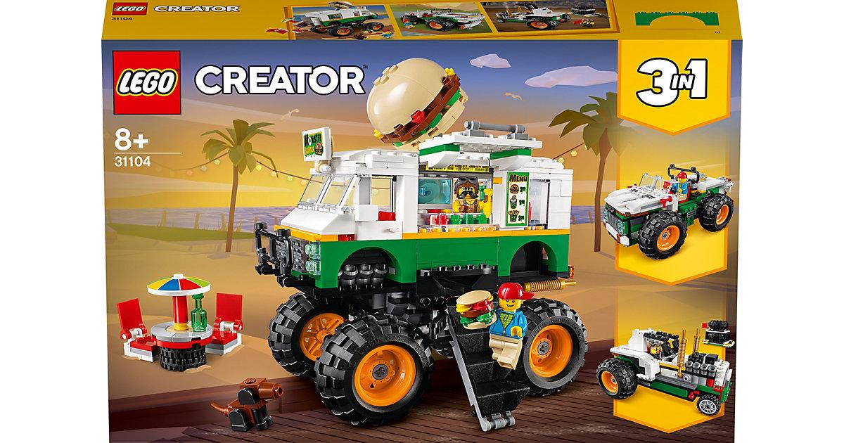 LEGO®® Creator 31104 Burger-Monster-Truck