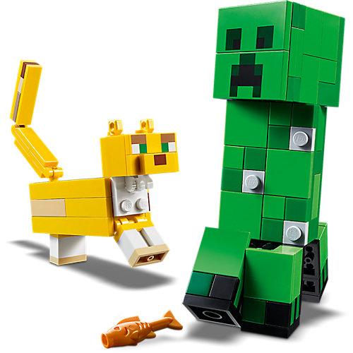 Конструктор LEGO Minecraft 21156: Большие фигурки, Крипер и Оцелот от LEGO