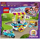 Конструктор LEGO Friends 41389: Тележка с мороженым