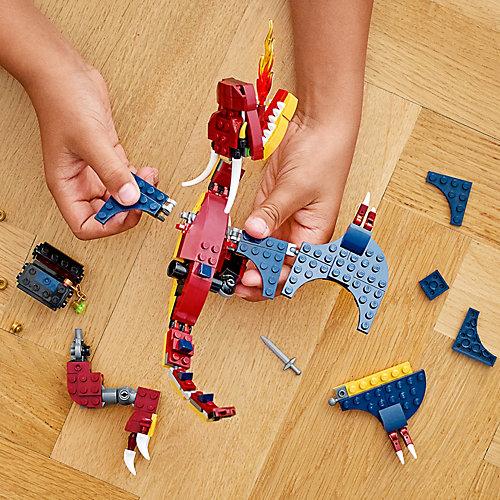Конструктор LEGO Creator 31102: Огненный дракон от LEGO