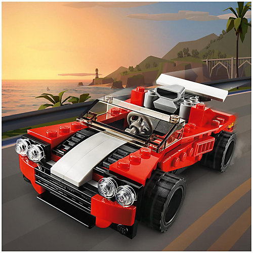 Конструктор LEGO Creator 31100: Спортивный автомобиль от LEGO