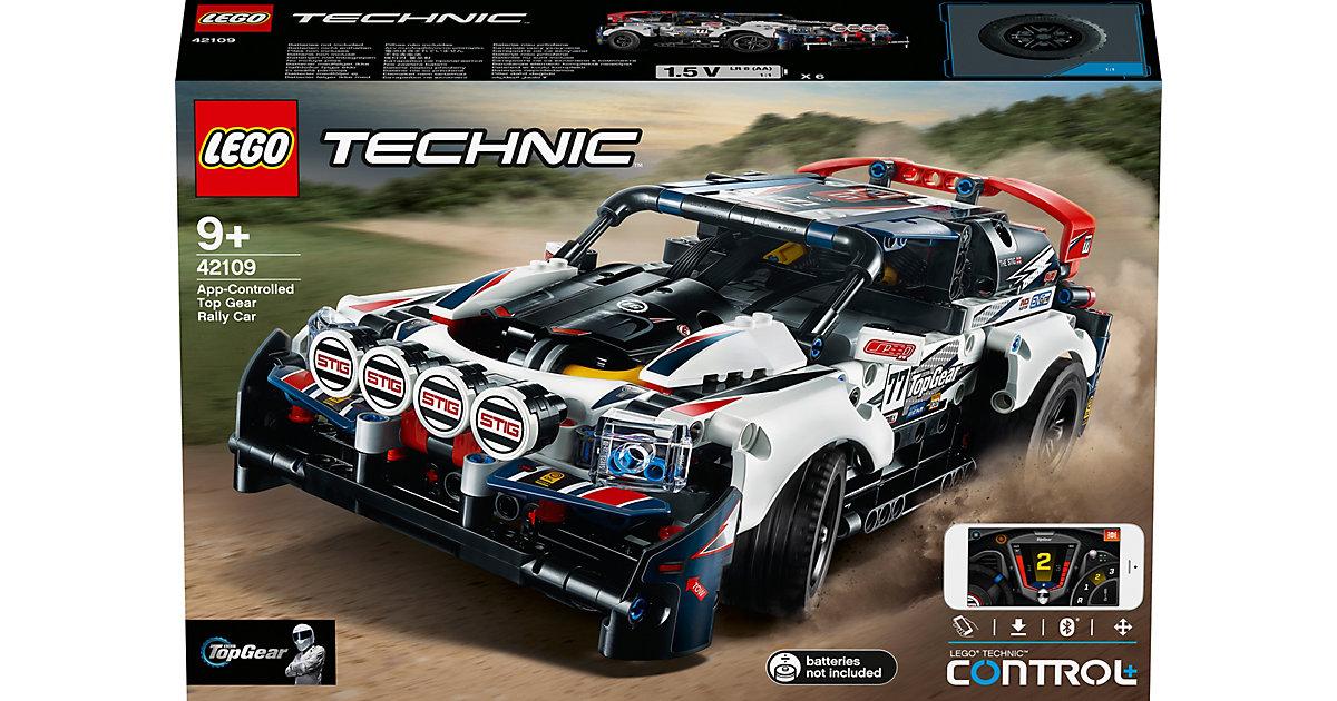 LEGO 42109 Technic: Top-Gear Ralleyauto mit App-Steuerung