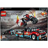 Конструктор LEGO Technic 42106: Шоу трюков на грузовиках и мотоциклах