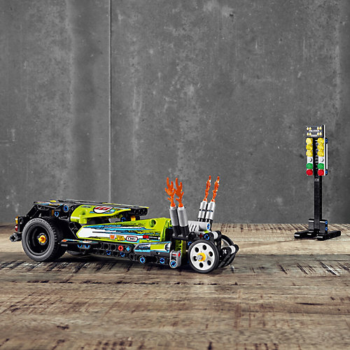 Конструктор LEGO Technic 42103: Драгстер от LEGO