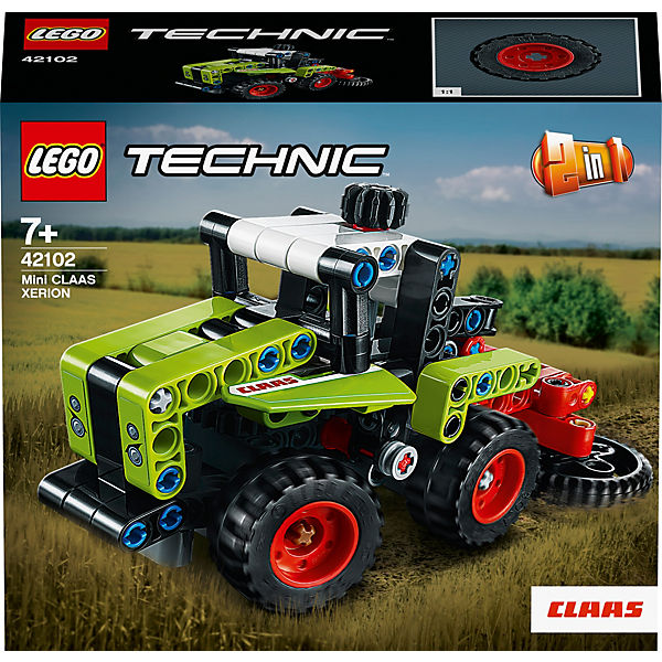 LEGO 42102 Technic: Mini CLAAS XERION