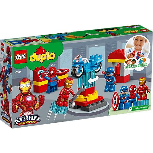 Конструктор LEGO DUPLO Super Heroes 10921: Лаборатория супергероев от LEGO