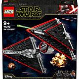 Конструктор LEGO Star Wars 75272: Истребитель СИД ситхов