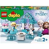 Конструктор LEGO DUPLO Princess 10920: Чаепитие у Эльзы и Олафа