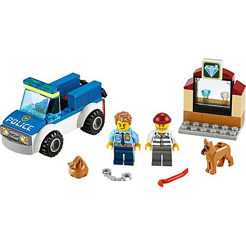 Конструктор LEGO City Police 60241: Полицейский отряд с собакой от LEGO