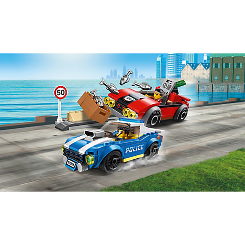 Конструктор LEGO City Police 60242: Арест на шоссе от LEGO