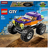Конструктор LEGO City Great Vehicles 60251: Монстр-трак