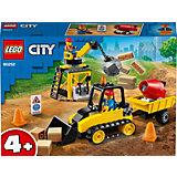 Конструктор LEGO City Great Vehicles 60252: Строительный бульдозер