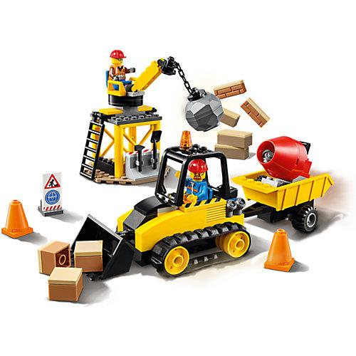 Конструктор LEGO City Great Vehicles 60252: Строительный бульдозер от LEGO
