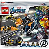Конструктор LEGO Super Heroes 76143: Мстители: Нападение на грузовик