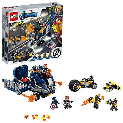 Конструктор LEGO Super Heroes 76143: Мстители: Нападение на грузовик от LEGO