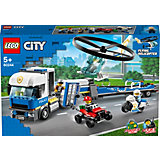 Конструктор LEGO City Police 60244: Полицейский вертолётный транспорт