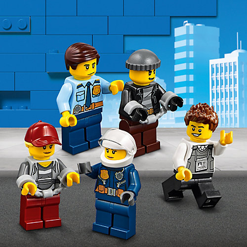 Конструктор LEGO City Police 60245: Ограбление полицейского монстр-трака от LEGO