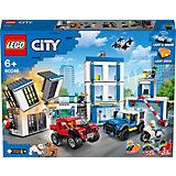 Конструктор LEGO City Police 60246: Полицейский участок