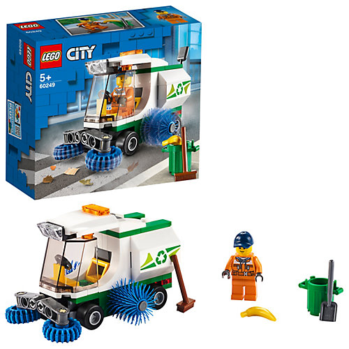 Конструктор LEGO City Great Vehicles 60249: Машина для очистки улиц от LEGO