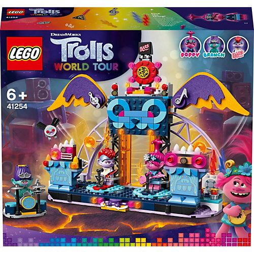 Конструктор LEGO Trolls 41254: Концерт в городе Рок-на-Вулкане от LEGO