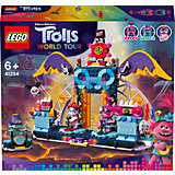 Конструктор LEGO Trolls 41254: Концерт в городе Рок-на-Вулкане
