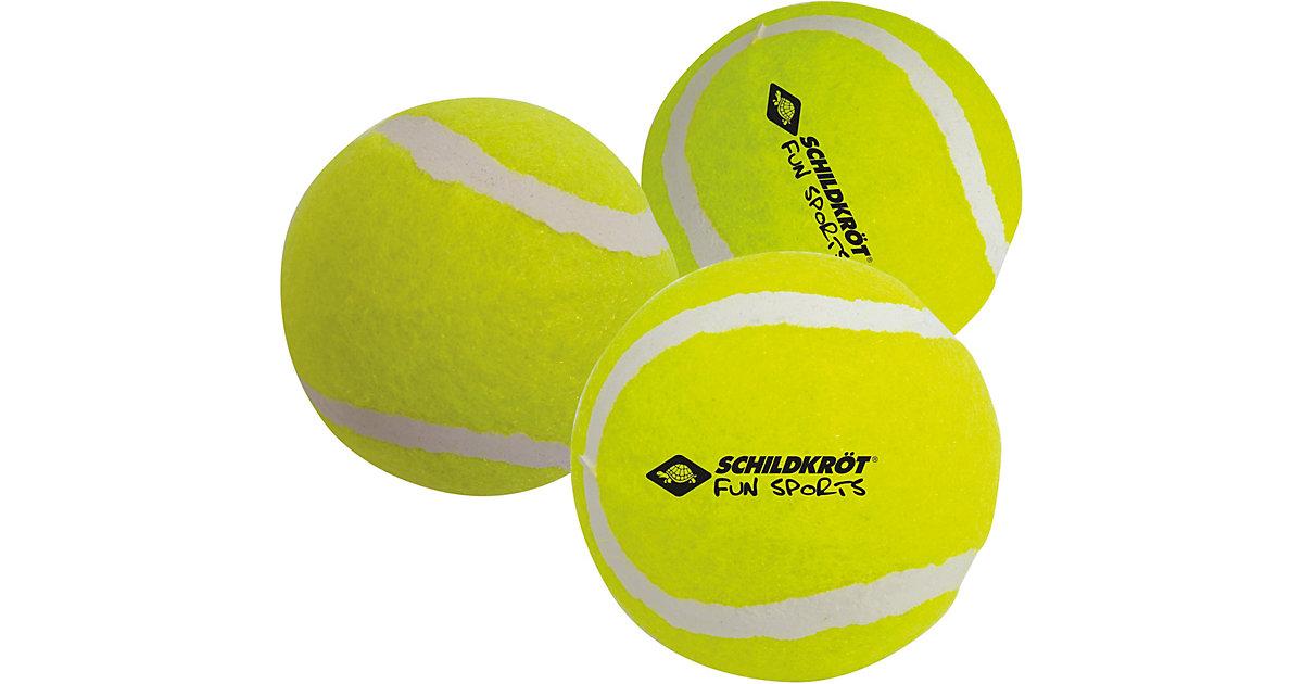 Tennisball, 3er Pack gelb