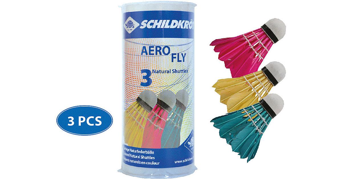 Federball Aero Fly, 3er Pack bunt