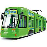 Городской трамвай Dickie Toys зеленый, 46 см