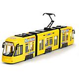 Городской трамвай Dickie Toys желтый, 46 см