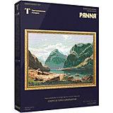 """Набор для вышивания PANNA """"Золотая серия. Озеро в горах Швейцарии"""""""