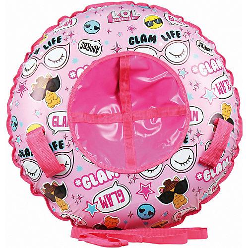 Тюбинг 1toy L.O.L. - розовый от 1Toy
