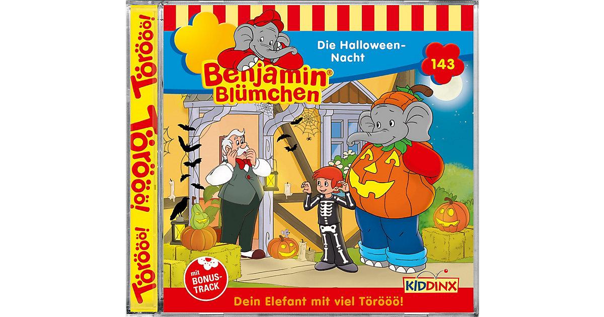 CD Benjamin Blümchen 143 - Die Halloween-Nacht Hörbuch